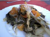 Bietola da coste con carote 1